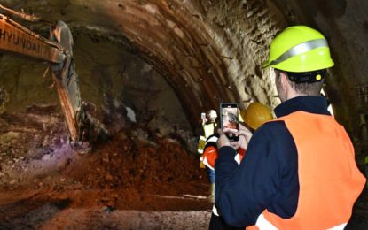 Probijena druga cijev tunela Ivan na dionici Tarčin – Konjic [Galerija]