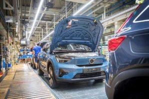 Volvo C40 Recharge – početak proizvodnje u Beligiji